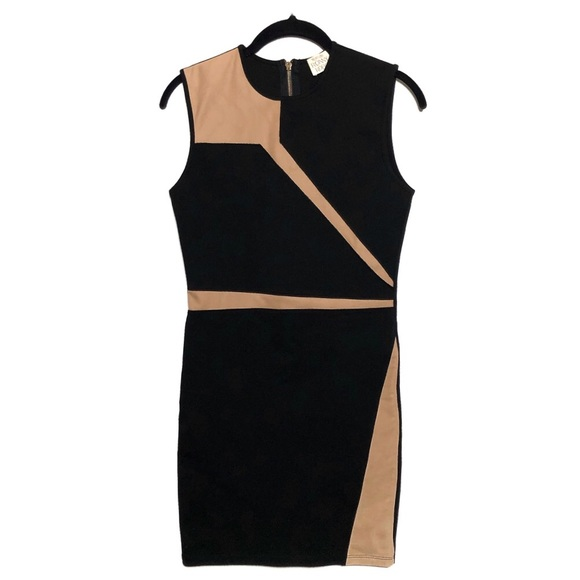 Torn by Ronny Kobo Dresses & Skirts - Torn By Ronny Kobo Dress Bodycon Nude Black Fitted